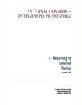 Internal control, integrated framework: Reporting to external parties September 1992