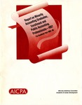 Report on minority accounting graduates, enrollment, and public accounting professionals, 1997 : for academic year 1995-1996
