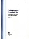 Independence standard no. 1: independence discussions with audit committees; ISB no. 1
