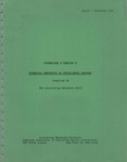 Financial reporting of price-level changes, Appendixes B through E