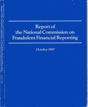Report of the National Commission on Fraudulent Financial Reporting