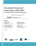 Fraudulent financial reporting: 1998-2007 : an analysis of U.S. public companies by Mark S. Beasley, Dana R. Hermanson, Joseph V. Carcello, and Terry L. Neal