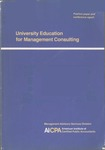 University education for management consulting : position paper and conference report