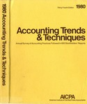 Accounting trends and techniques, 34th annual survey, 1980 edition by American Institute of Certified Public Accountants