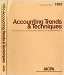 Accounting trends and techniques, 37th annual survey, 1983 edition by American Institute of Certified Public Accountants