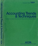 Accounting trends and techniques, 38th annual survey, 1984 edition by American Institute of Certified Public Accountants