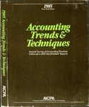 Accounting trends and techniques, 39th annual survey, 1985 edition by American Institute of Certified Public Accountants