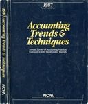 Accounting trends and techniques, 41th annual survey, 1987 edition by American Institute of Certified Public Accountants