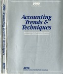 Accounting trends and techniques, 44th annual survey, 1990 edition by American Institute of Certified Public Accountants