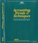 Accounting trends and techniques, 45th annual survey, 1991 edition by American Institute of Certified Public Accountants