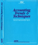 Accounting trends and techniques, 46th annual survey, 1992 edition by American Institute of Certified Public Accountants
