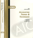 Accounting trends and techniques, 50th annual survey, 1996 edition by American Institute of Certified Public Accountants