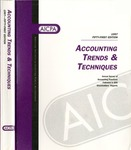 Accounting trends and techniques, 51st annual survey, 1997 edition by American Institute of Certified Public Accountants