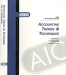 Accounting trends and techniques, 52nd annual survey, 1998 edition by American Institute of Certified Public Accountants