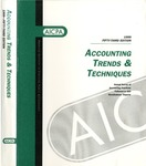 Accounting trends and techniques, 53rd annual survey, 1999 edition by American Institute of Certified Public Accountants