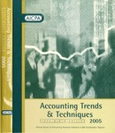 Accounting trends and techniques, 59th annual survey, 2005 edition by American Institute of Certified Public Accountants