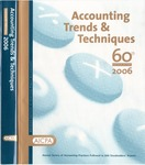 Accounting trends and techniques, 60th annual survey, 2006 edition by American Institute of Certified Public Accountants. Federal Taxation Division