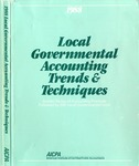 Local governmental accounting trends & techniques 1988 by American Institute of Certified Public Accountants, Susan Cornwall, Cornelius E. Tierney, Philip T. Calder, and Deborah A. Koebele