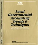 Local governmental accounting trends & techniques 1989 by American Institute of Certified Public Accountants, Susan Cornwall, Cornelius E. Tierney, Philip T. Calder, and Deborah A. Koebele