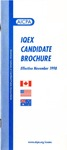 IQEX candidate brochure, effective November 1998 by American Institute of Certified Public Accountants
