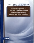 Review engagements -- new and expanded guidance on analytical procedures, inquiries, and other procedures by J. Russell Madray and Lorie L. Pombo