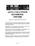 Volunteer handbook 1999/2000 by American Institute of Certified Public Accountants (AICPA)