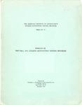 College accounting testing program bulletin no. 16; Results of the fall, 1952, college accounting testing program, December, 1952