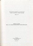 College accounting testing program bulletin no. 22; Results of the fall, 1954, college accounting testing program
