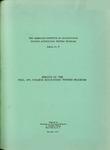 College accounting testing program bulletin no. 25; Results of the fall, 1955, college accounting testing program