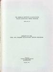 College accounting testing program bulletin no. 28; Results of the fall, 1956, college accounting testing program