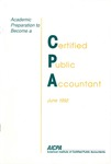 Academic preparation to become a certified public accountant by American Institute of Certified Public Accountants