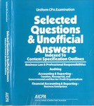 Uniform CPA examination. Selected questions and unofficial answers indexed to content specification outline by American Institute of Certified Public Accountants. Board of Examiners and American Institute of Certified Public Accountants. Examinations Division