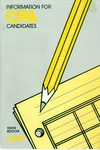 information for CPA Candidates, Tenth Edition (1991) by American Institute of Certified Public Accountants. Board of Examiners