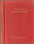 Accountants' legal responsibility, with a collection of leading cases and articles by Saul Levy (1891-)