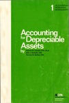 Accounting for depreciable assets by Charles William Lamden, Dale L. Gerboth, and Thomas Walter McRae