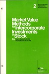 Market value methods for intercorporate investments in stock