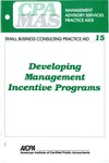 Developing management incentive programs