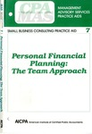 Personal financial planning : the team approach