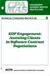 EDP engagement : assisting clients in software contract negotiations