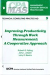 Improving productivity through work measurement : a cooperative approach; Management advisory services practice aids. Technical consulting practice aid, 09