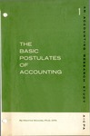Basic postulates of accounting; Accounting research study no. 01