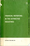 Financial reporting in the extractive industries; Accounting research study no. 11
