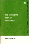 Accounting basis of inventories; Accounting research study no. 13