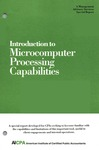 Introduction to microcomputer processing capabilities; Management advisory services special report