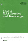 Study of MAS practice and knowledge; Management advisory services special report