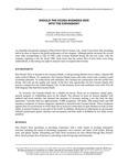 Professor/practitioner case development program - 1997 case studies