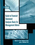 Guide to financial statement analysis : basis for management advice by Wallace N. Davidson and James L. McDonald