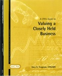CPA's guide to valuing a closely held business; Small business consulting; Consulting services practice aid 93-3