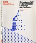 Compliance with Federal election campaign requirements : a guide for candidates