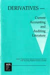 Derivatives--current accounting and auditing literature